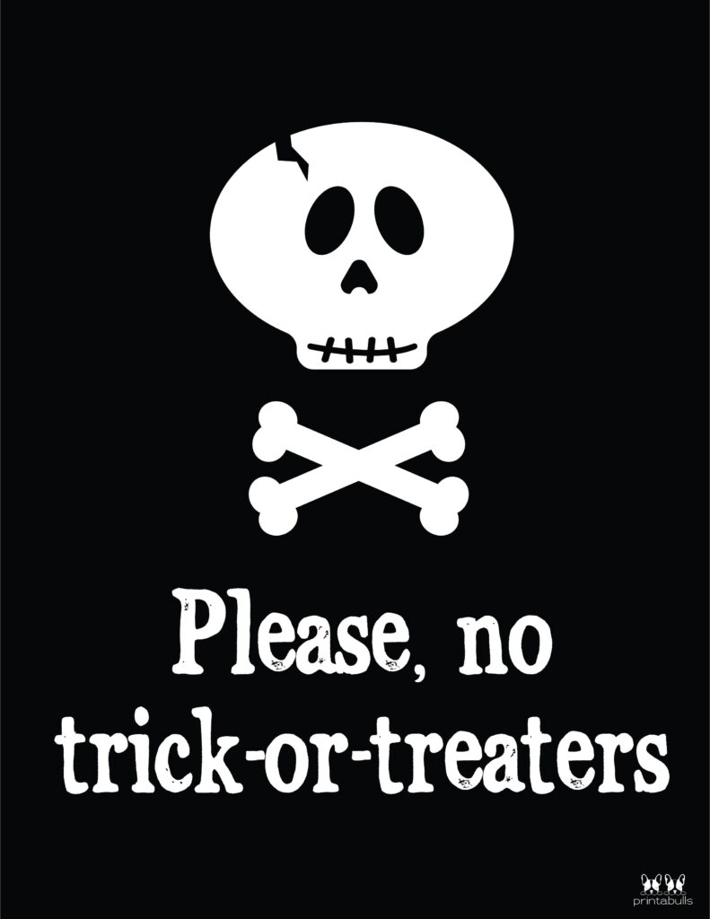No Trick Or Treaters-2