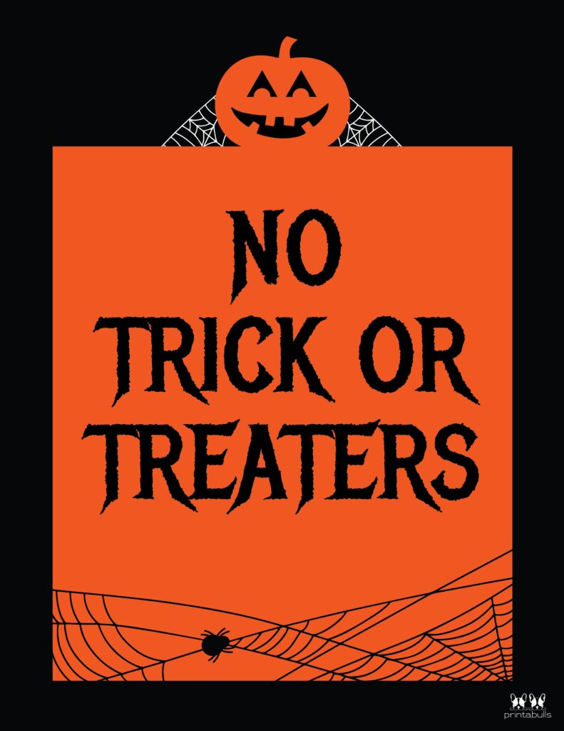 No Trick Or Treaters-3