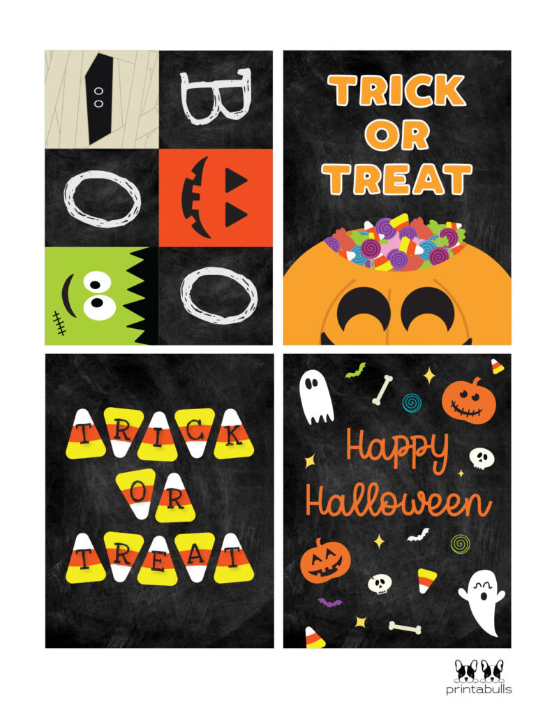 trick or treat printable cards