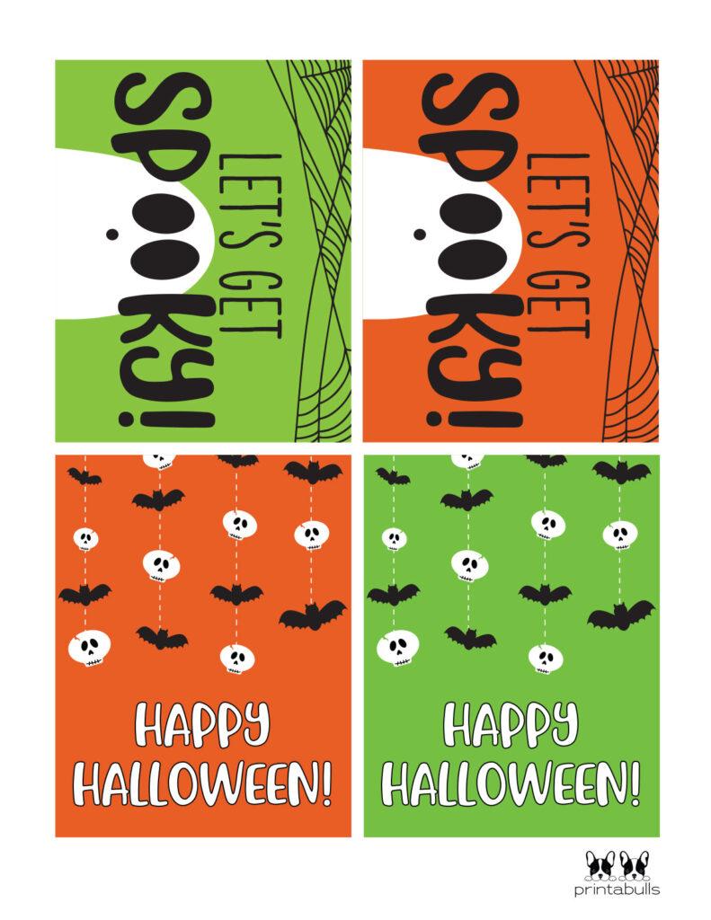 get spooky and happy halloween