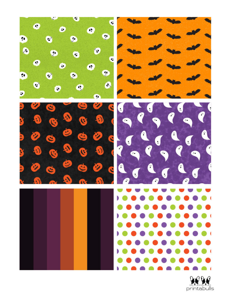 halloween cards with patterns