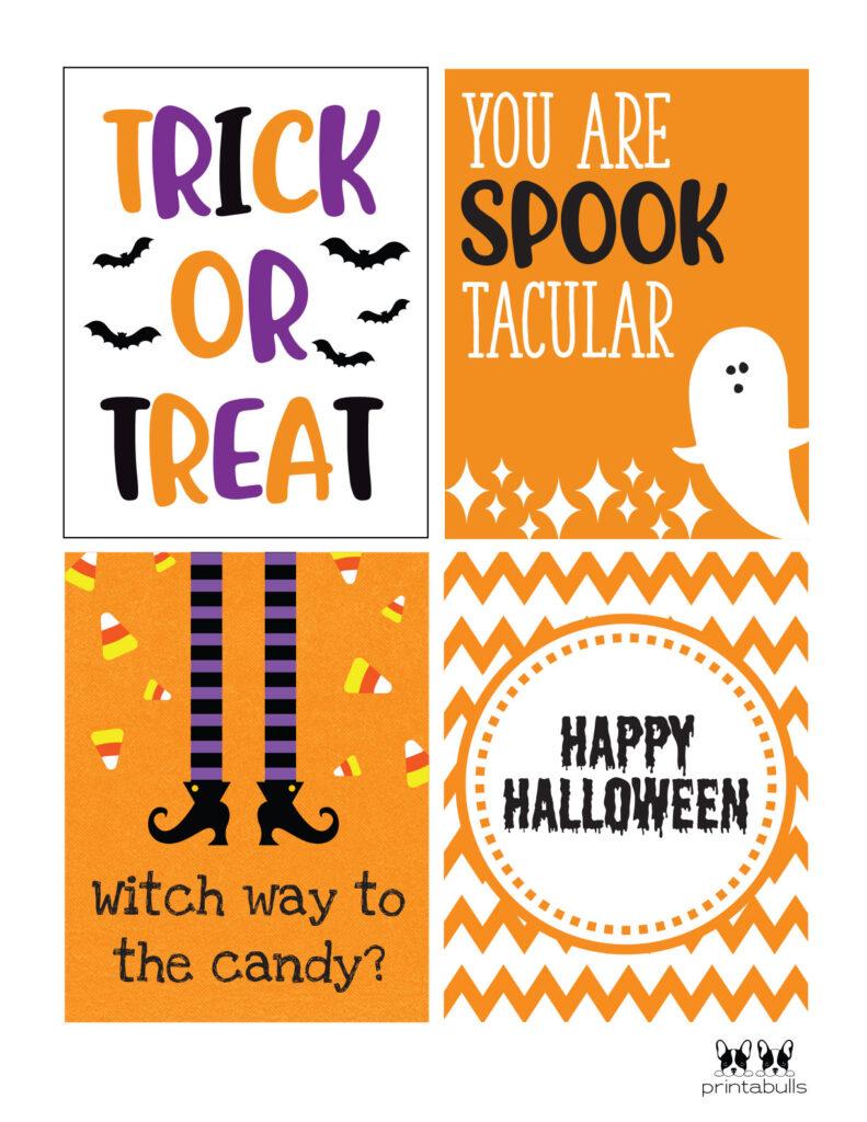 spooktacular printable cards