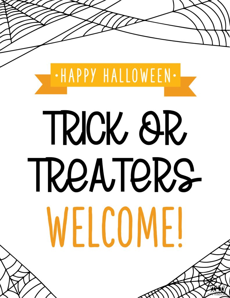 Trick Or Treaters Welcome-1