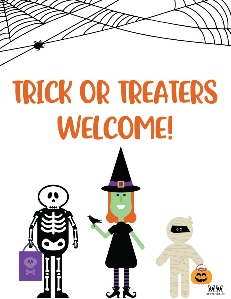 Trick Or Treaters Welcome-2