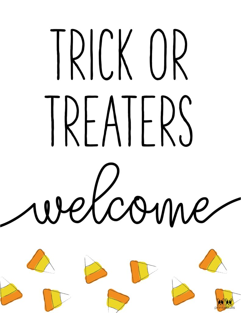 Trick Or Treaters Welcome-3