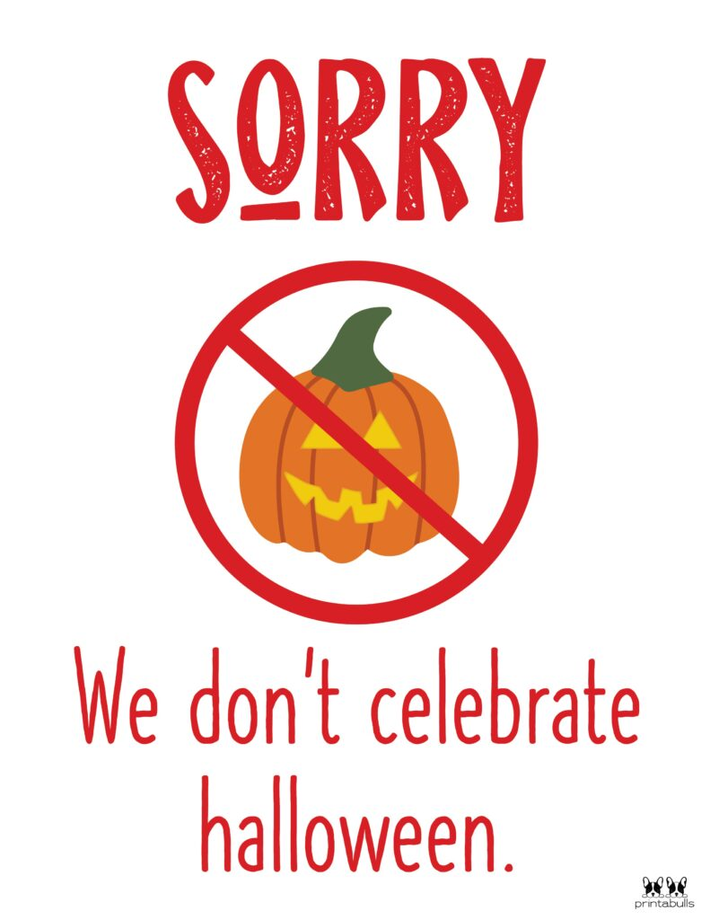 We Don't Celebrate Halloween-1