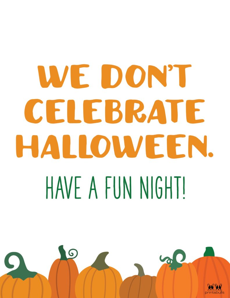 We Don't Celebrate Halloween-2