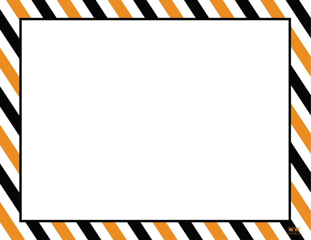 Printable Halloween Border-Page 9 Horizontal