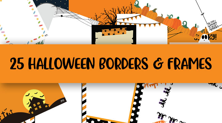 Printable-Halloween-Borders-and-Frames-Feature-Image