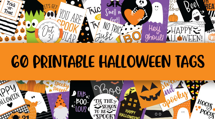 Free Printable Halloween Tags Feature Image