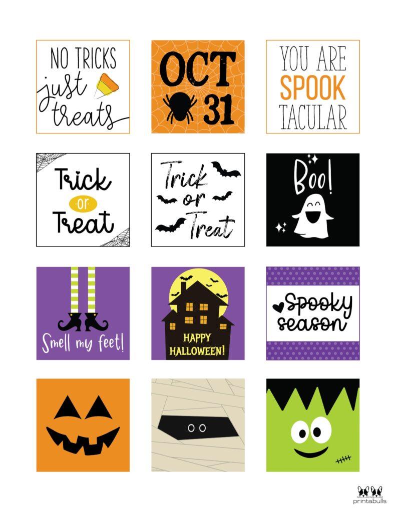 Printable Halloween Tags-Page 1