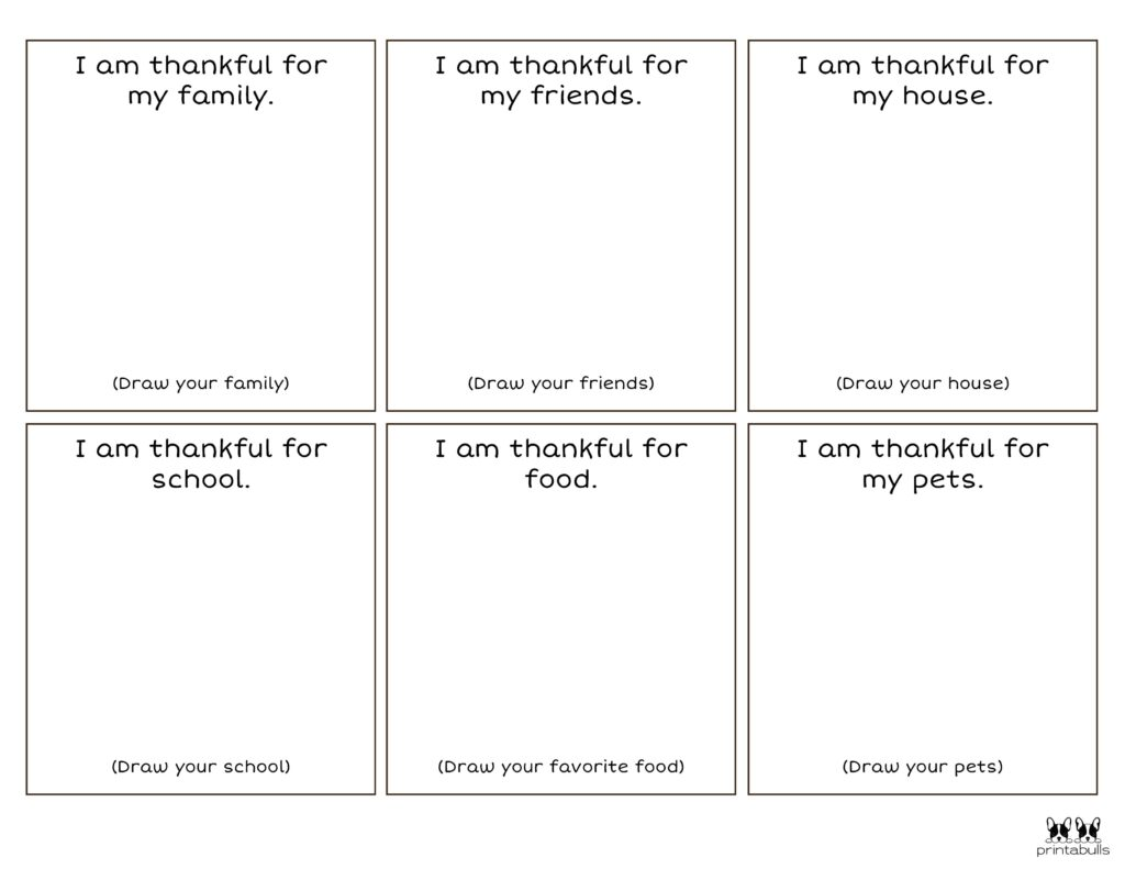 Printable I Am Thankful Worksheet_Page 4