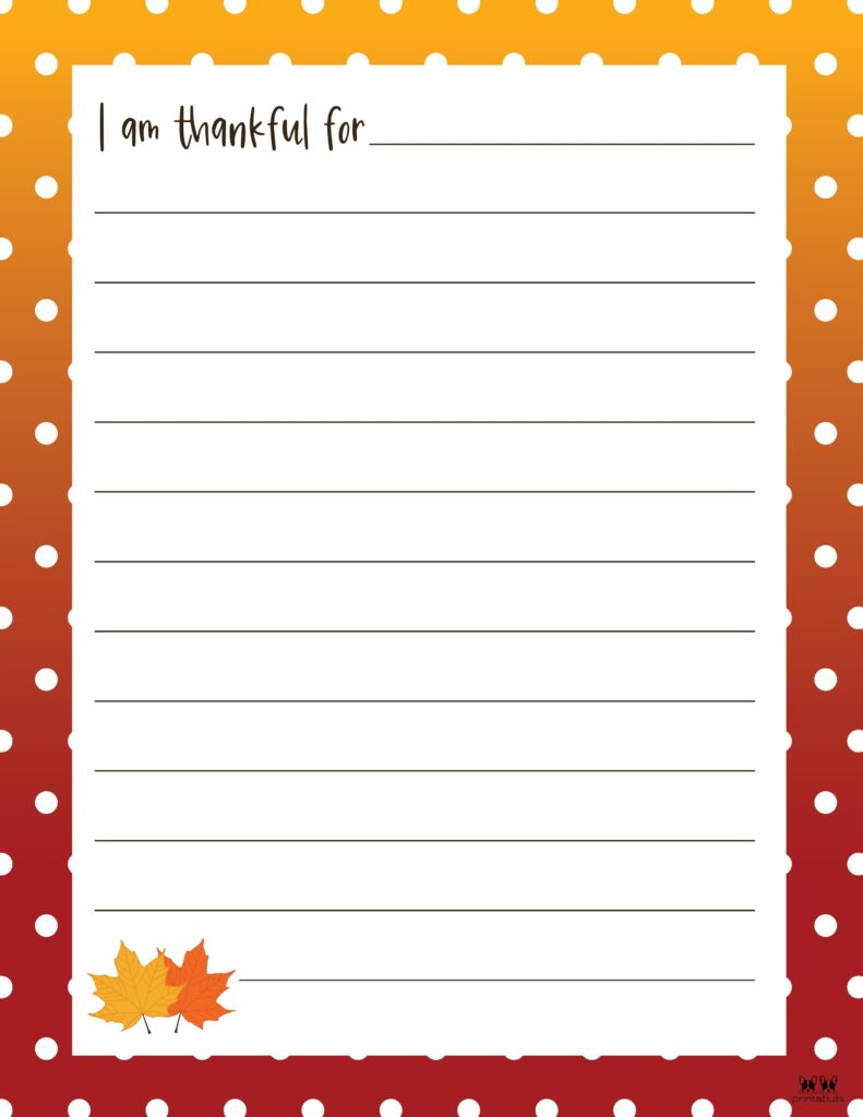 Printable I Am Thankful Worksheet_Page 5
