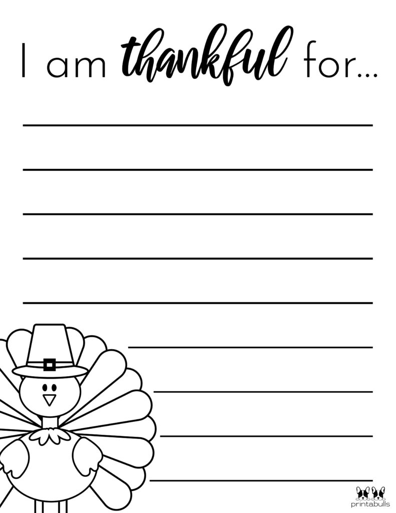 Printable I Am Thankful Worksheet_Page 9
