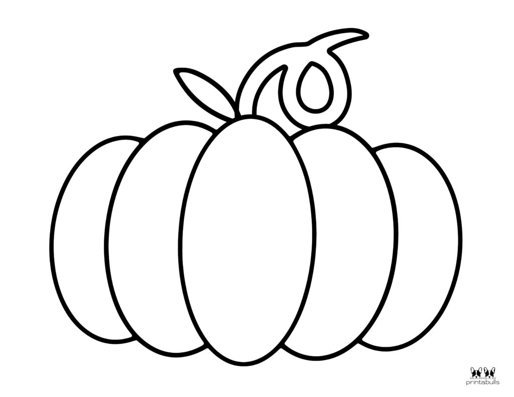 Printable Pumpkin Coloring Page-Page 13