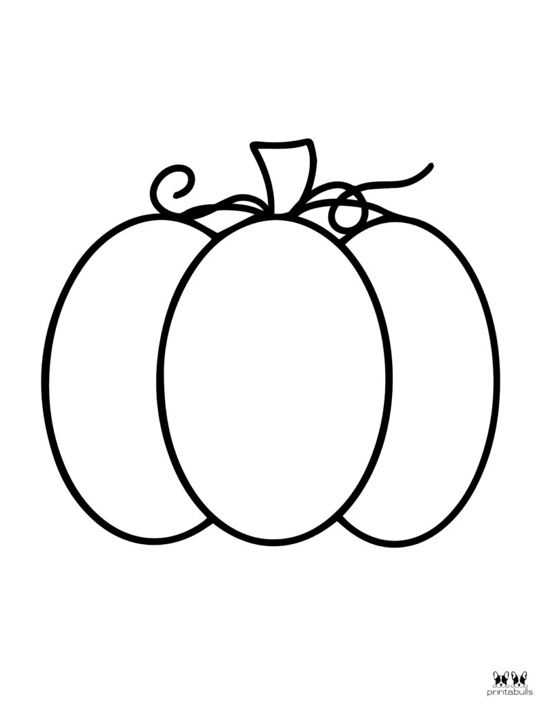Printable Pumpkin Coloring Page-Page 15