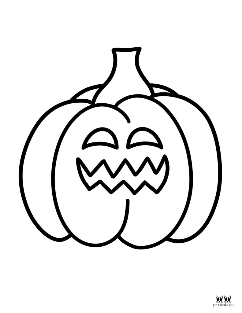 Printable Pumpkin Coloring Page-Page 18
