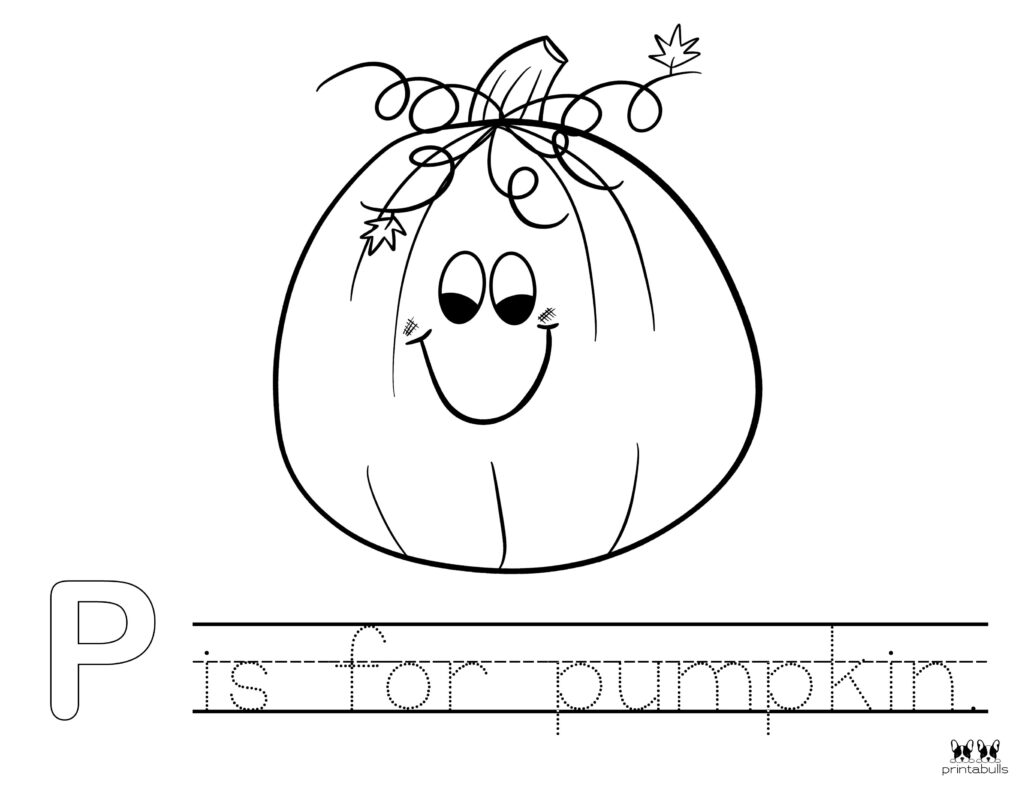 Printable Pumpkin Coloring Page-Page 2