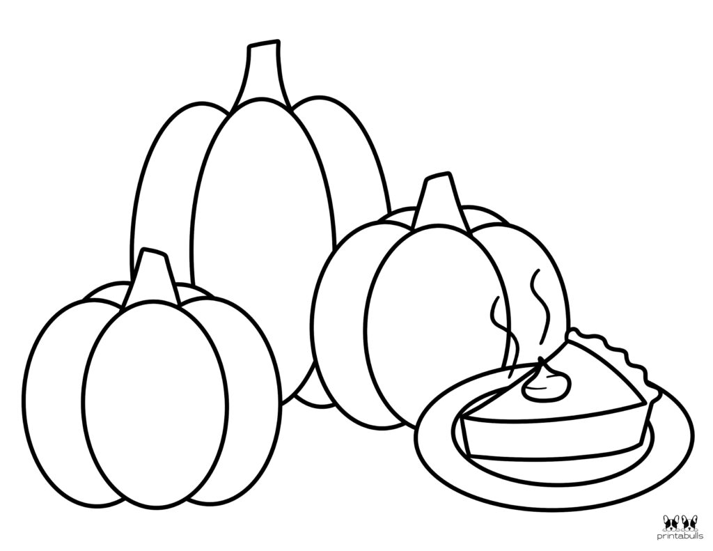 Printable Pumpkin Coloring Page-Page 20
