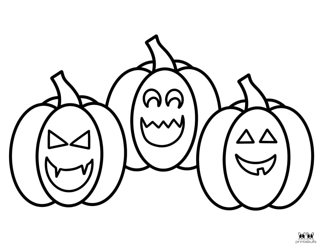 Printable Pumpkin Coloring Page-Page 21
