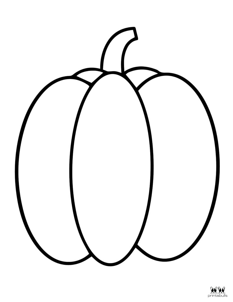 Printable Pumpkin Coloring Page-Page 4