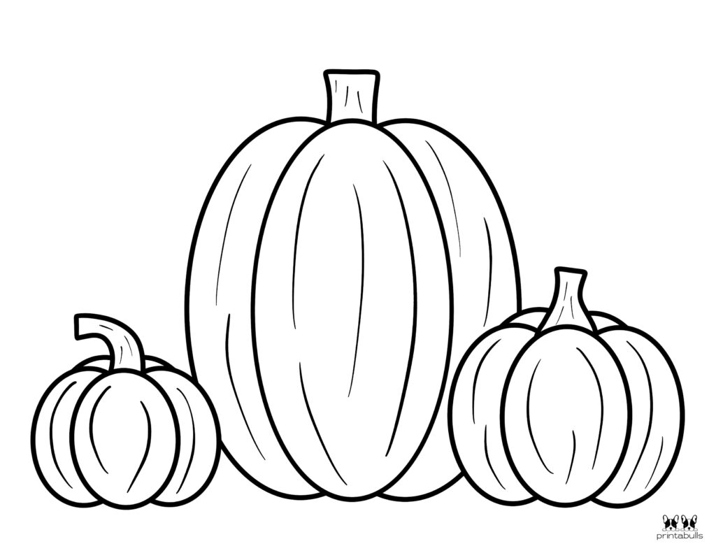 Printable Pumpkin Coloring Page-Page 5