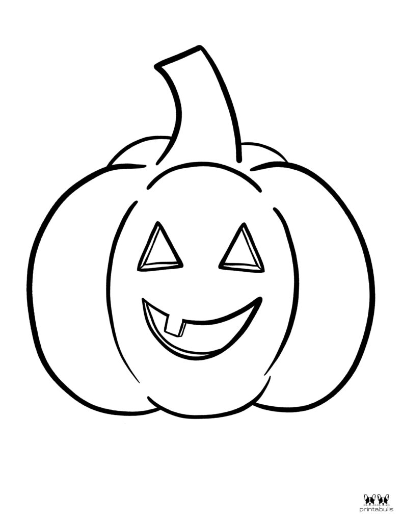 Printable Pumpkin Coloring Page-Page 7