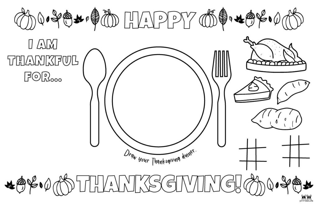 Printable Thanksgiving Placemat-Page 10