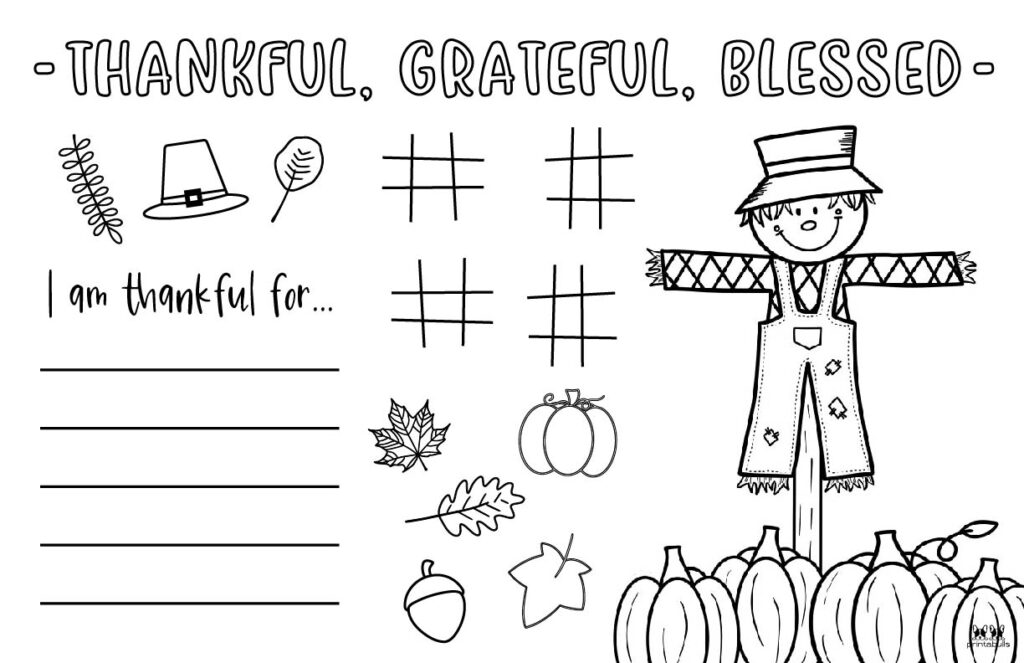 Printable Thanksgiving Placemat-Page 2