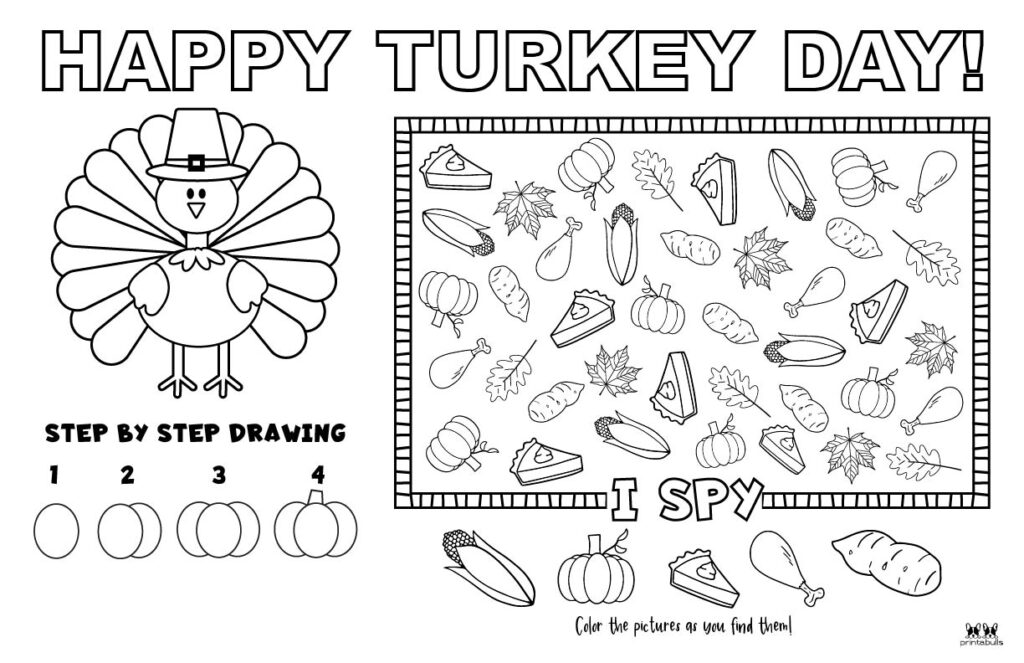 Printable Thanksgiving Placemat-Page 4