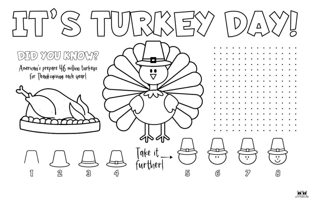 Printable Thanksgiving Placemat-Page 9