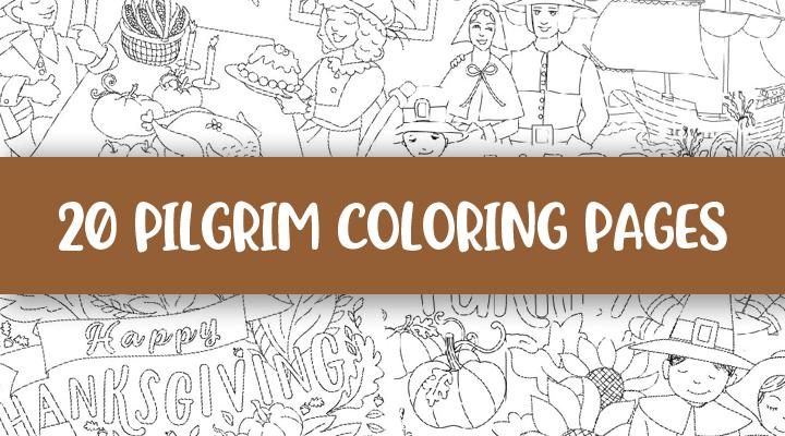 Pilgrim Coloring-Feature Image