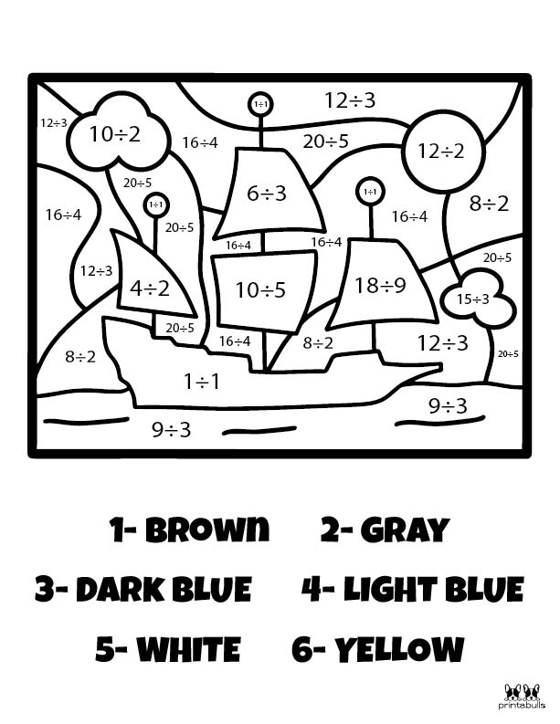 Printable Thanksgiving Color By Number-Page 11