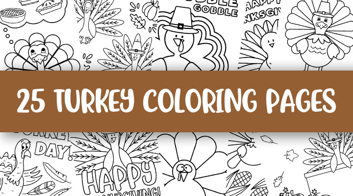 Printable-Turkey-Coloing-Pages-Feature-Image