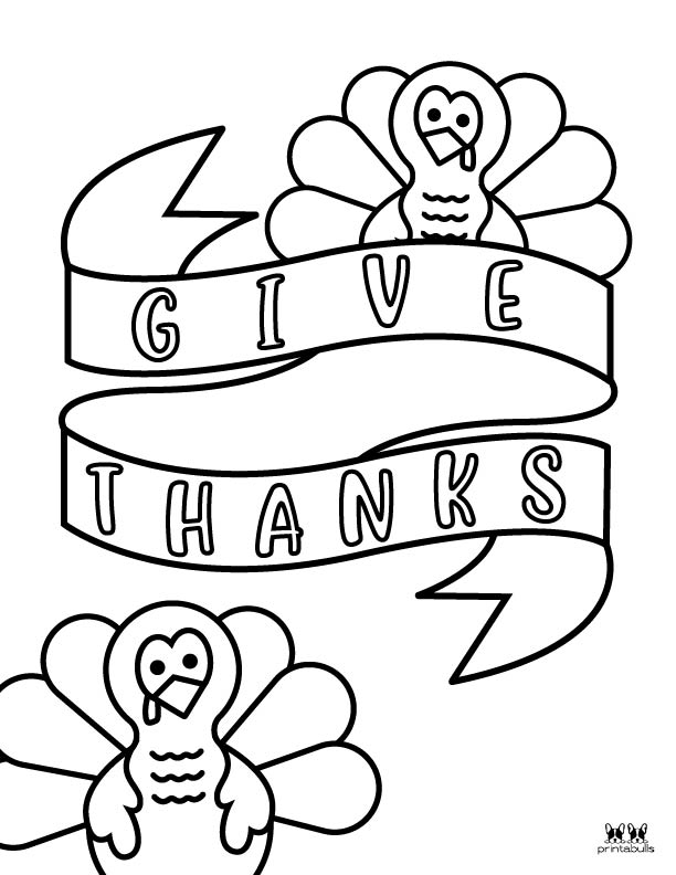 Printable Turkey Coloring Pages-Page 15