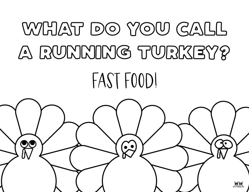 Printable Turkey Coloring Pages-Page 21