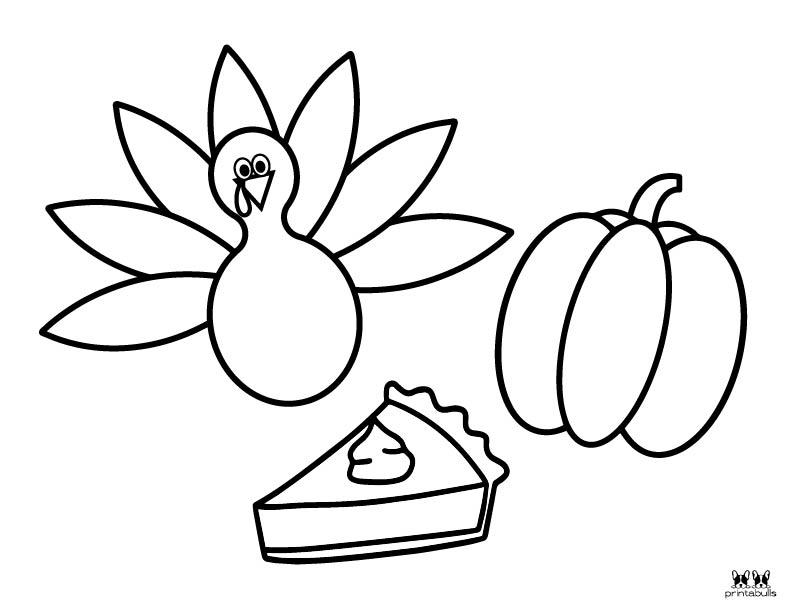 Printable Turkey Coloring Pages-Page 3