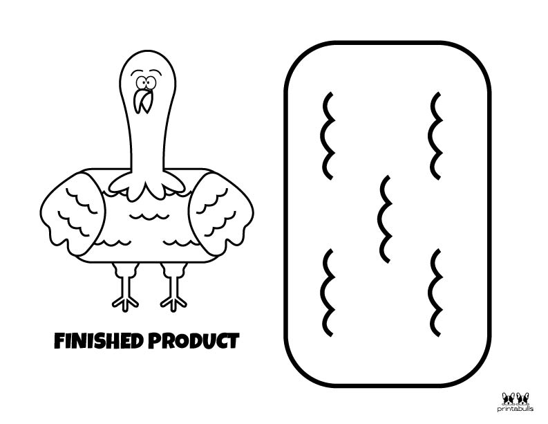 Printable Turkey Template-Page 18