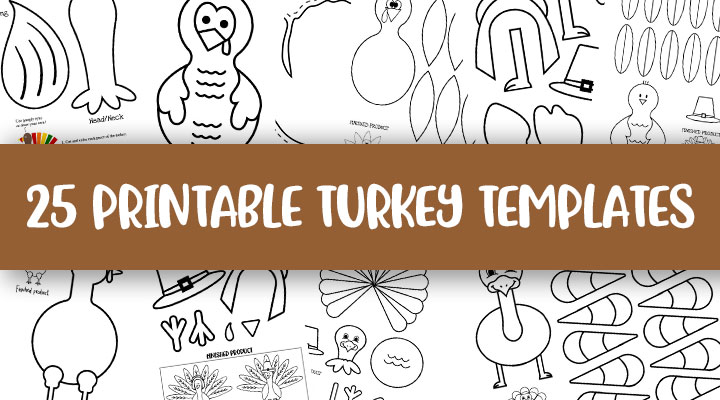 Printable-Turkey-Templates-Feature-Image