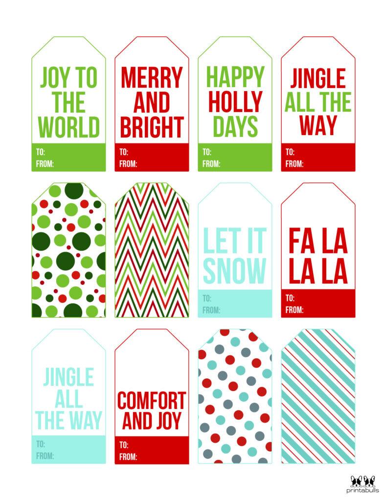 Printable Christmas Gift Tags_Page 11