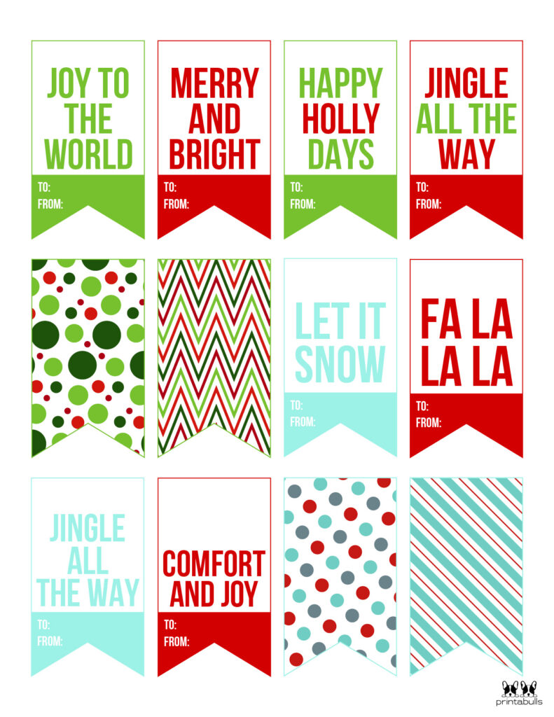 Printable Christmas Gift Tags_Page 12