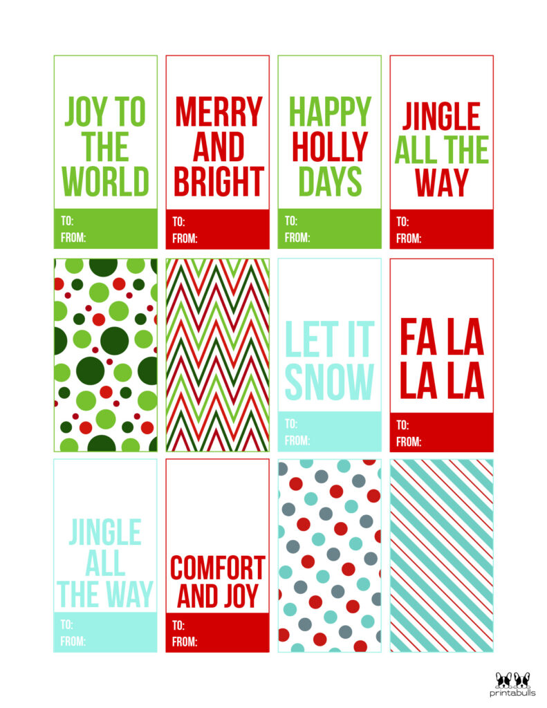 Printable Christmas Gift Tags_Page 13