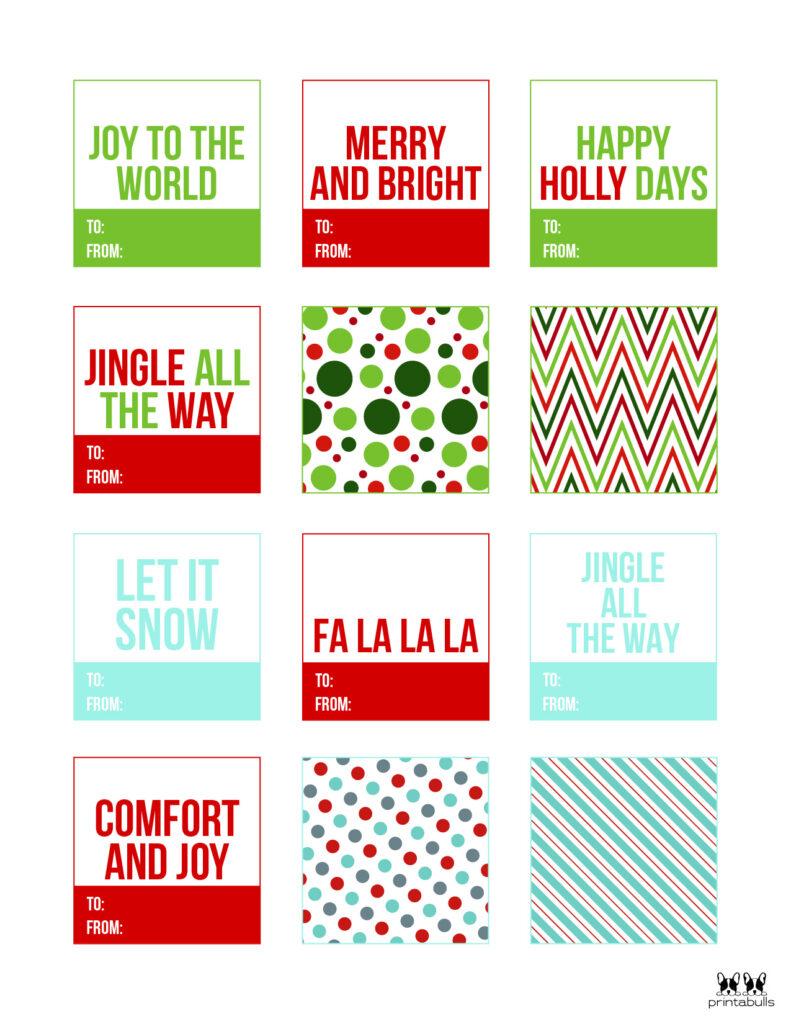 Printable Christmas Gift Tags_Page 15