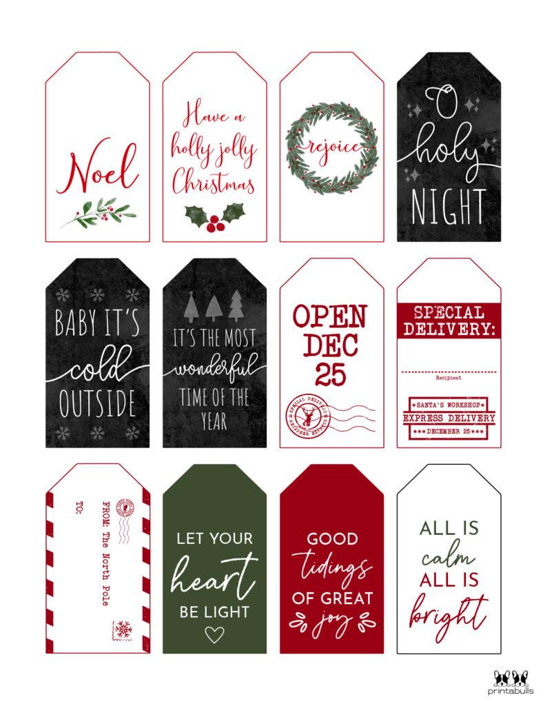 Printable Christmas Gift Tags_Page 16