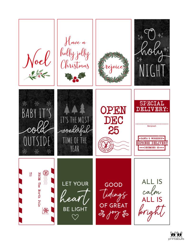 Printable Christmas Gift Tags_Page 18