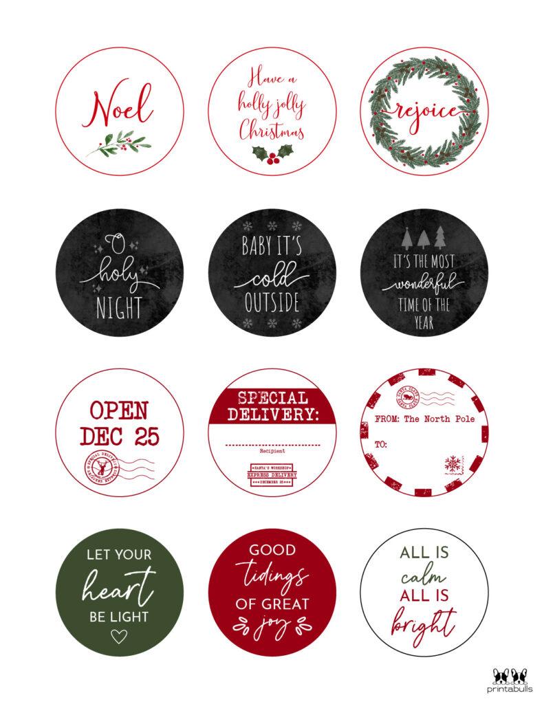 Printable Christmas Gift Tags_Page 19