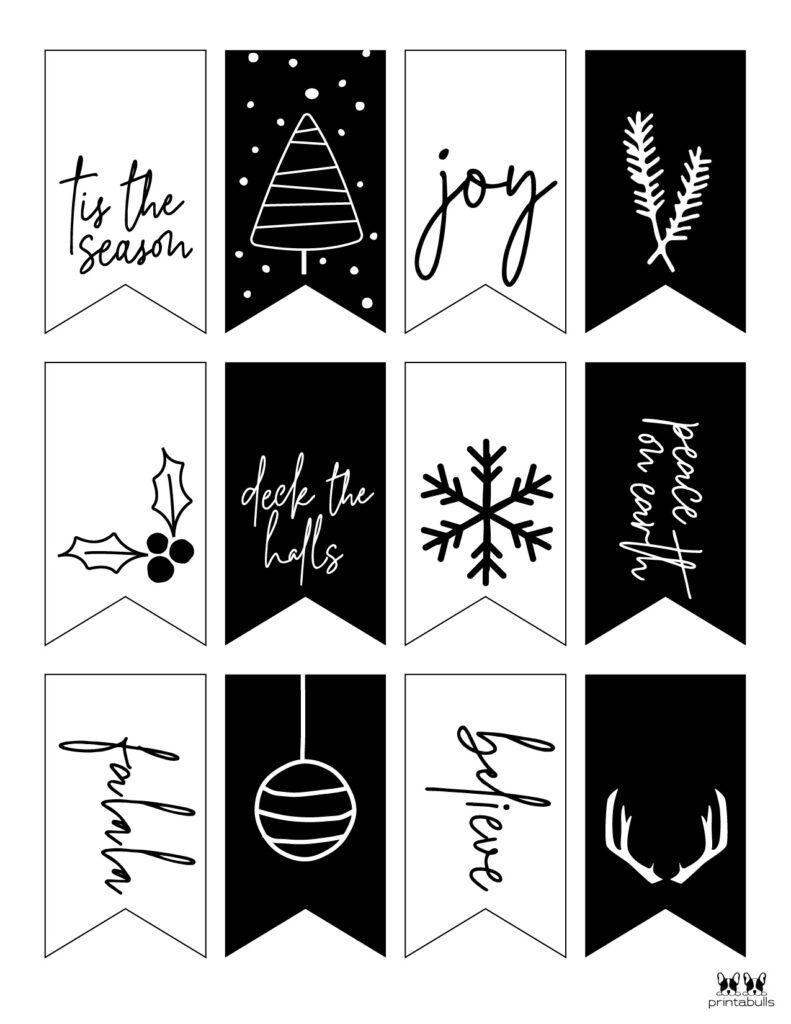 Printable Christmas Gift Tags_Page 2