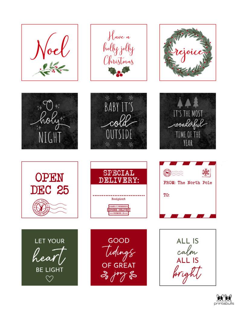 Printable Christmas Gift Tags_Page 20