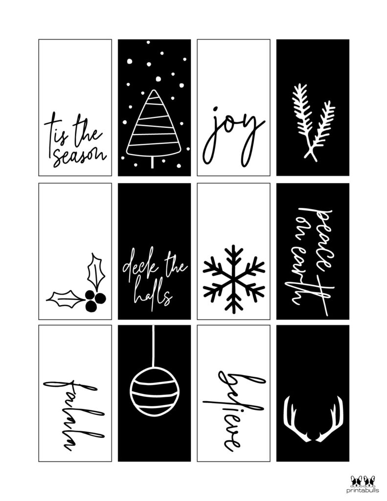 Printable Christmas Gift Tags_Page 3