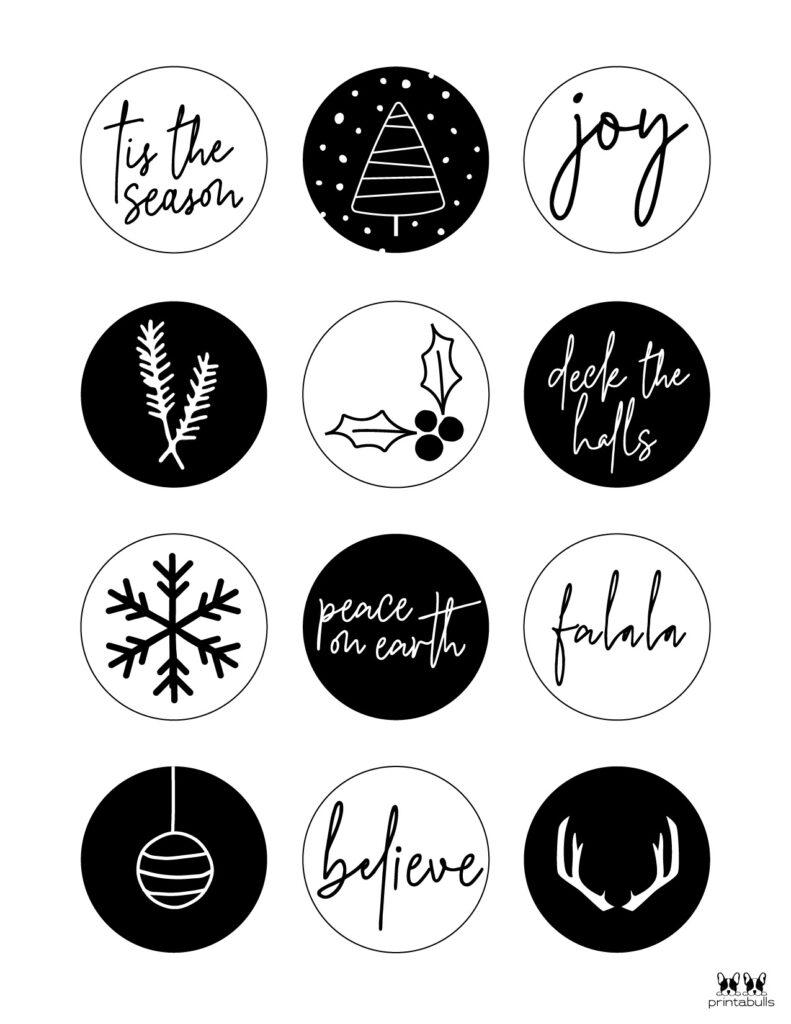 Printable Christmas Gift Tags_Page 4